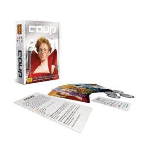 Coup - парти настолна игра - компоненти