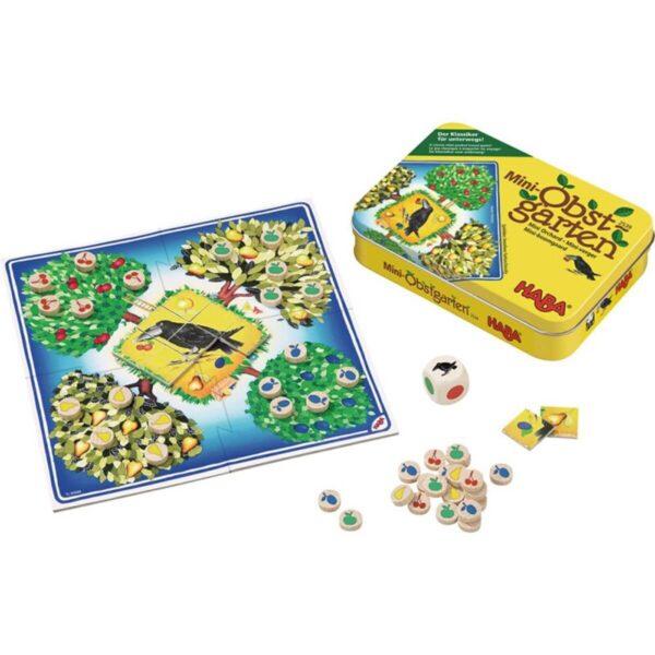 Овощна градина - метална кутия - детска настолна игра