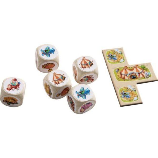 Лунапарк - детска настолна игра - компоненти