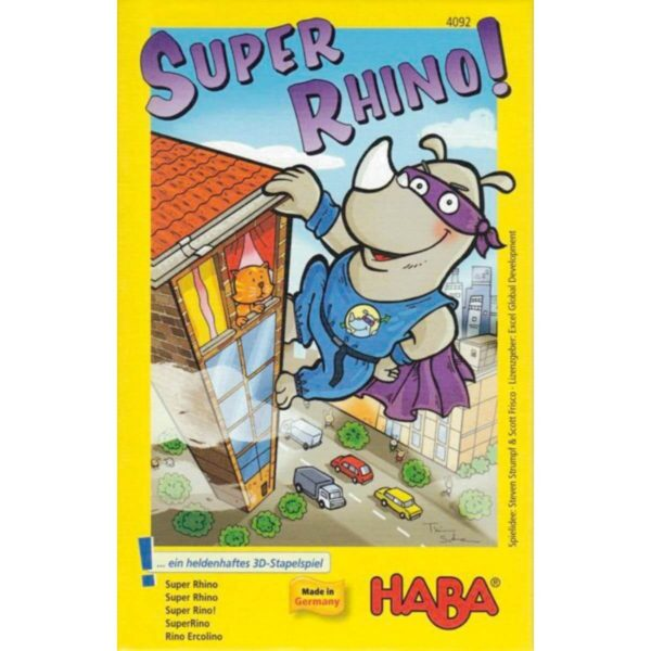 Супер Рино - детска настолна игра