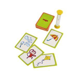Пантомима - детска настолна игра - компоненти