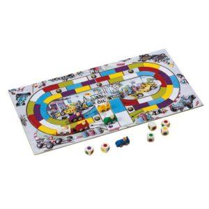 Формула-1 - детска настолна игра - компоненти