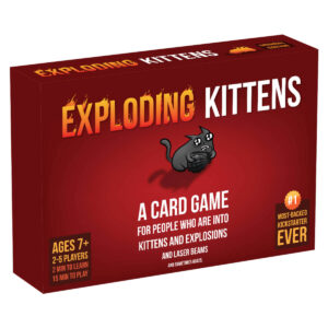 Exploding Kittens: Original edition - парти настолна игра