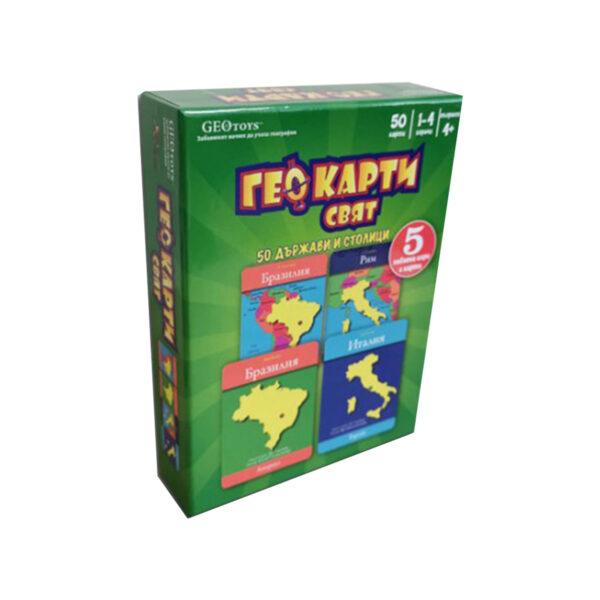 ГеоКарти Свят - детска настолна игра