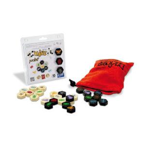 Hive Pocket - стратегическа настолна игра - компоненти
