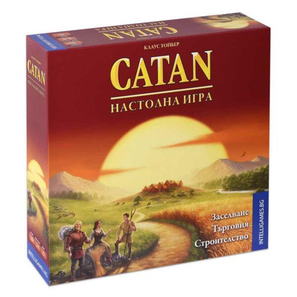 Catan - базова бордова игра
