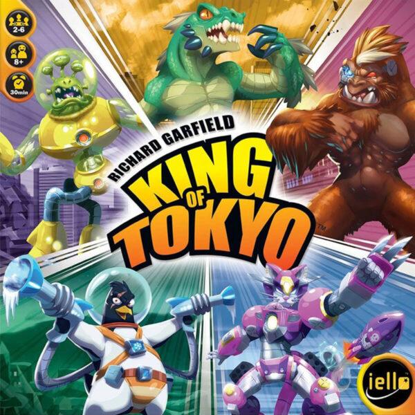 King of Tokyo - семейна настолна игра