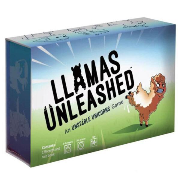 Llamas Unleashed - семейна настолна игра