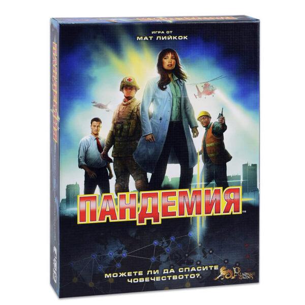 Пандемия - семейна настолна игра