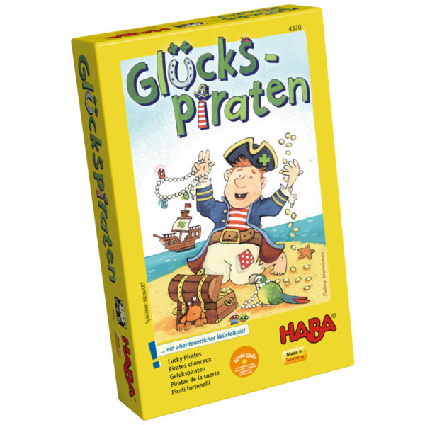 Пирати късметлии - детска настолна игра