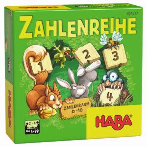 Поредност на числата - детска настолна игра