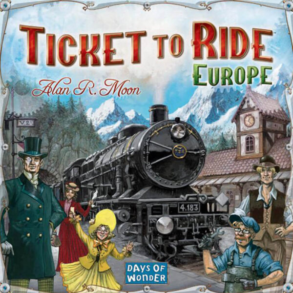Ticket to Ride: Europe настолна игра