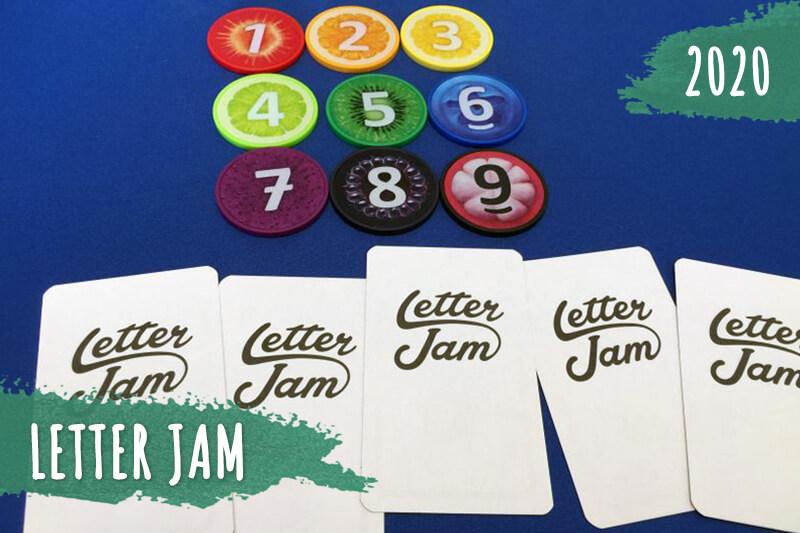 Letter Jam настолна парти игра