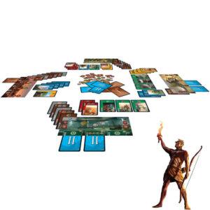 7 Wonders - стратегическа игра - компоненти