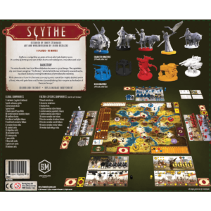 Scythe - стратегическа настолна игра - гръб