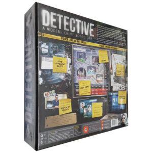 Detective: A modern board game - кооперативна игра - кутия
