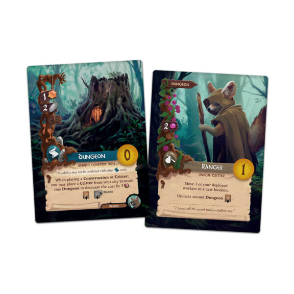 Everdell - стратегическа игра - карти