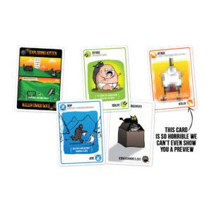 Exploding Kittens: NSFW edition - парти настолна игра - карти