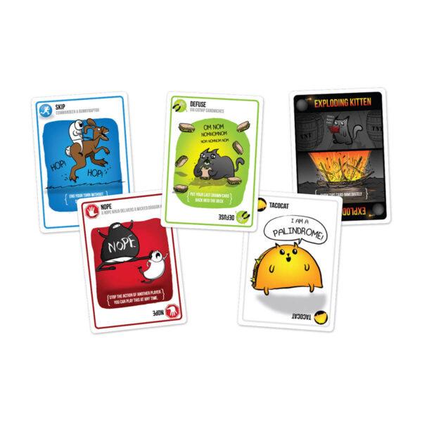 Exploding Kittens: Original edition - парти настолна игра - карти