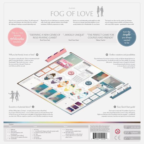 Fog of love - настолна игра
