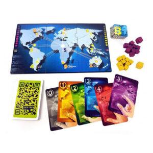 Hack Trick - стратегическа игра - компоненти
