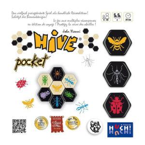 Hive Pocket - стратегическа настолна игра