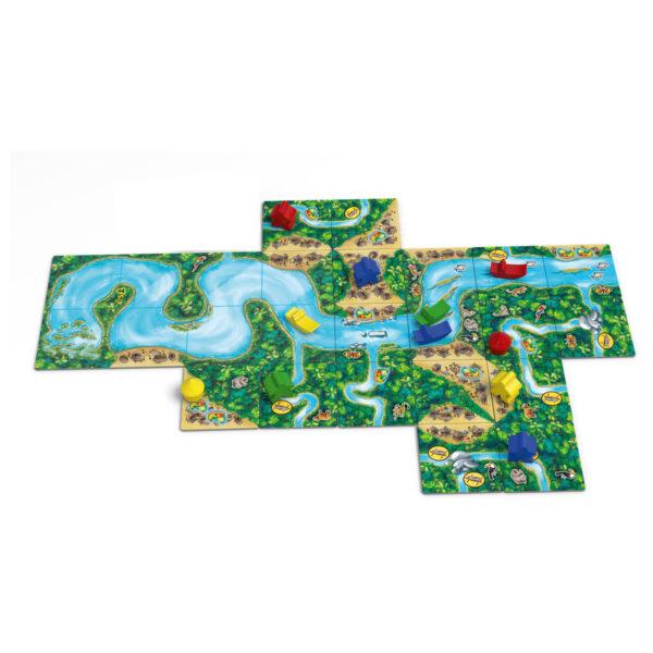 Каркасон Амазонка - игрално поле