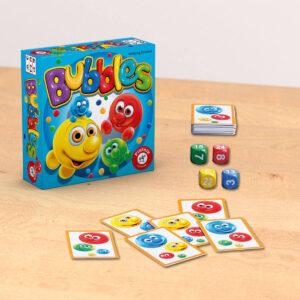 Мехурчета - семейна настолна игра - компоненти