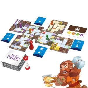 Мол Магика - кооперативна настолна игра - компоненти