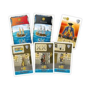 Порт Роял - семейна настолна игра - компоненти