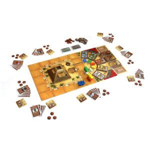 Camel Up - семейна настолна игра - компоненти