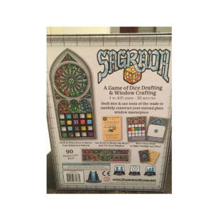 Sagrada - семейна настолна игра - гръб