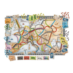 Карта на Ticket to Ride: Europe