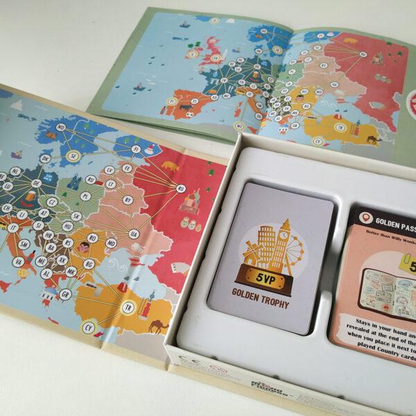 Travelin' New Edition - парти игра - компоненти