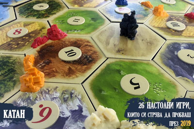 Заселниците на Катан - базова игра
