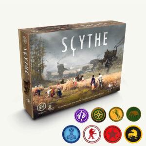 Scythe - стратегическа настолна игра - компоненти