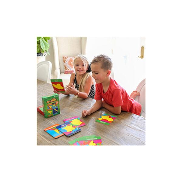 ГеоКарти Свят - детска образователна игра