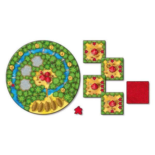 Какао - семейна настолна игра - компоненти