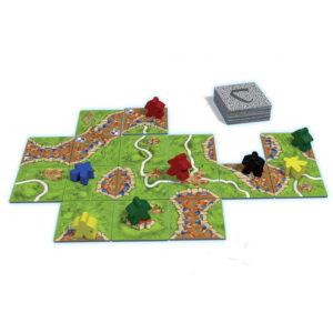 Каркасон - настолна игра - компоненти