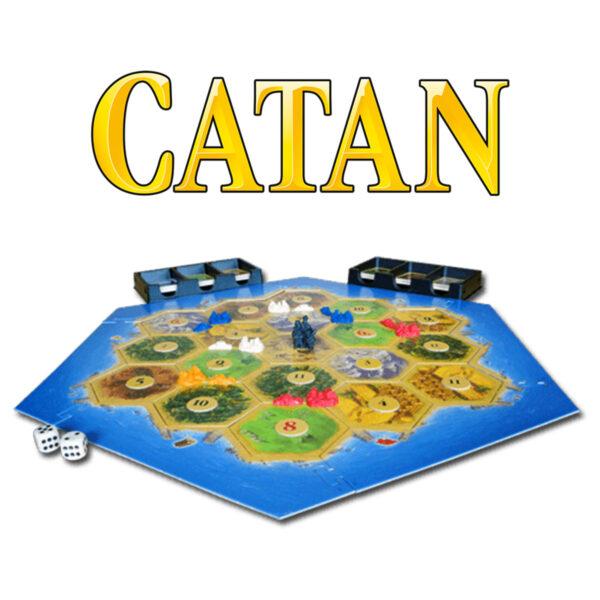 Catan - базова бордова игра - поле