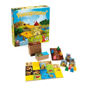 Кингдомино - семейна бордова игра - компоненти