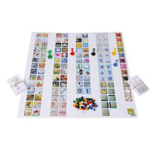 Концепт - парти настолна игра - компоненти