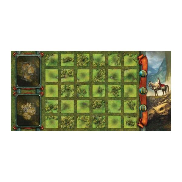 Кралства - стратегическа настолна игра - поле