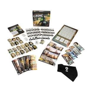 Криминални хроники - семейна настолна игра - компоненти