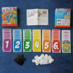 LAMA - настолна игра - компоненти