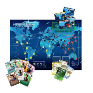Пандемия - семейна настолна игра - игрално поле