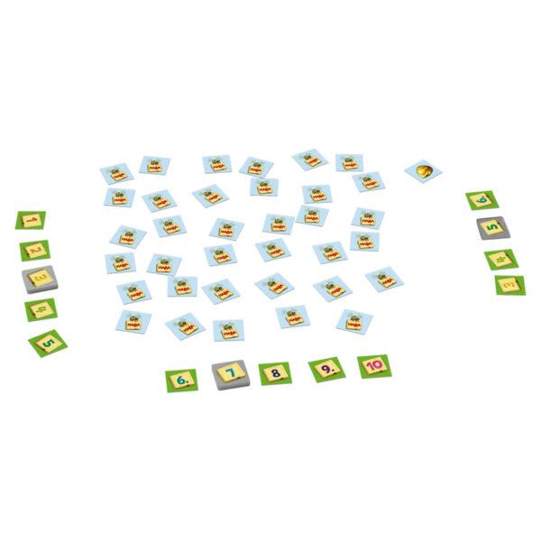 Поредност на числата - детска настолна игра - елементи