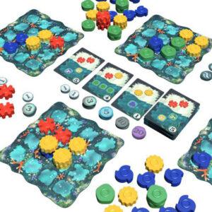 Reef - Семейна настолна игра - компоненти