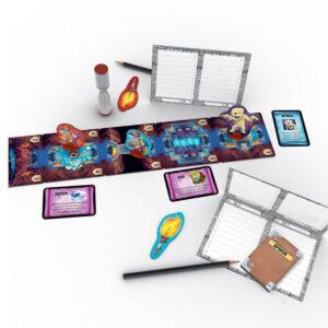 Словесни клопки - настолна игра - компоненти