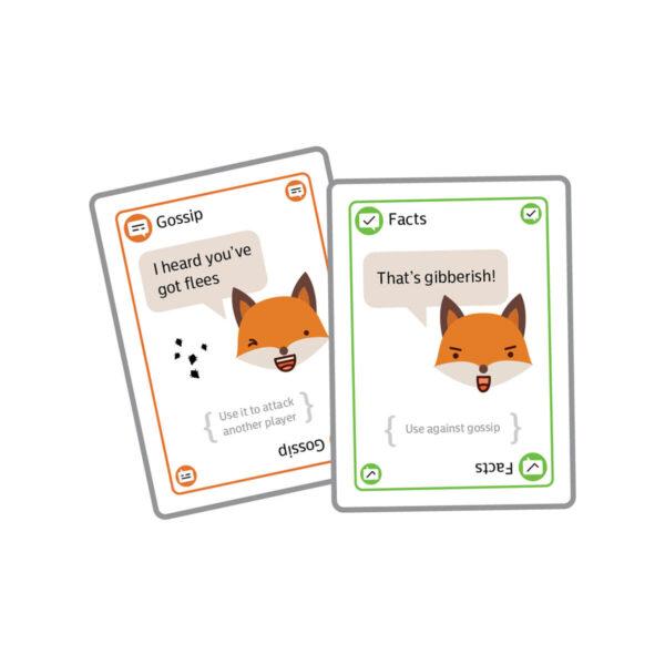Sly Foxes - настолна игра - карти